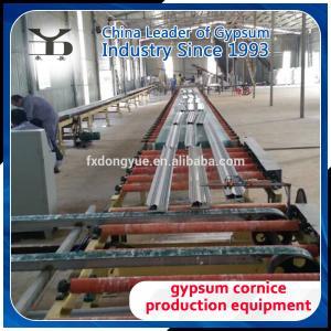 Gypsum Cornice Production Line Manufactures