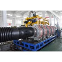 SBG800 Double Wall Corrugated Pipe Extrusion Line , Plastic Pipe Making Machinery Manufactures