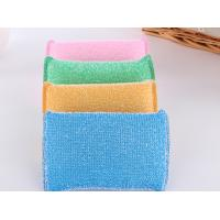 Eco Friendly Non Abrasive Cleaning Pads Strong Water Absorption With Plastic Thread Manufactures
