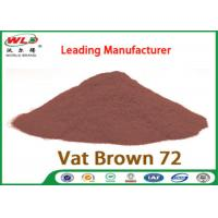 C I Vat Brown 72 Brown GG Chemical Dyes Used In Textile Industry 100% Strength Manufactures