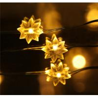 Holiday/Wedding decoration copper wire string lights battery power Led copper wire lights Manufactures