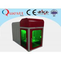 Small Size Angle 3D Crystal Laser Engraving Machine PC Control With Advanced Galvanom Manufactures