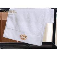 China 100% Cotton Bath Hotel Towel Set Soft Touch 200-600gsm  with Golden Logo on sale