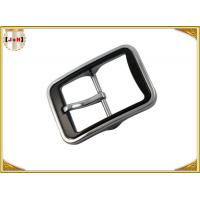 Various Color Plated Metal Heel Bar Belt Buckle With Pin For Leather Belts Manufactures
