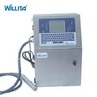 Willita Continuous Expiry Date Batch Inkjet Printing Machine For Mineral Water Bottle Manufactures