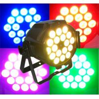 Sound Activated Colorful Dj Moving Head Lights , DMX 512 LED Par Can Lighting Manufactures