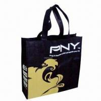 Nonwoven Gift Bag with Offset and Silkscreen Printings Manufactures
