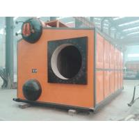 High Speed  SZS Gas Fired Steam Boiler 10-65kg Q345R Steel Plate Material Manufactures