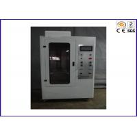 90 / 45 Degree Flammability Tester , Flame Retardant Test For Hard Casing Manufactures