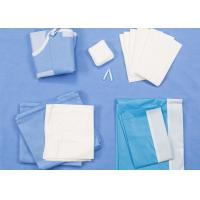 China Disposable Surgical Packs Delivery Baby Birth Kit SMS / Two Layers Lamination on sale