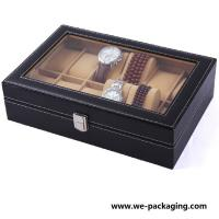 PU Leather Gift Packaging Box,watch box Manufactures