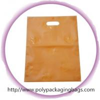 China Cute Die Cut Handle Bags For Clothes Shopping / Garment Plastic Bags on sale