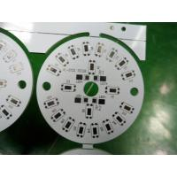 Round Metal Single Layer LED Bulb PCB 1.0mm / 1.2mm / 1.5mm Custom LED PCB Manufactures
