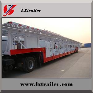 2 floor car transport semi trailer
