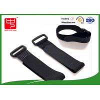Flip Buckle Colour hook and loop fasteners , Sticky hook and loop Fastening Luggage Manufactures