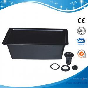 China SHP1-Lab PP Big Sink,800*456*320mm Lab PP Mid Size Sink ceramic sink workbench with sink pp sink science lab school lab on sale