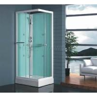 Square Walk-in Shower Room with 5mm Clear Tempered Glass (MJY-8073) Manufactures