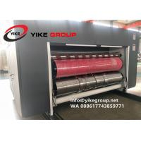 China Corrugated Packaging Automatic Flexo Printing Rotary Die Cutting with Slotting Machine From China YIKE Factory on sale