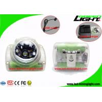 Buy cheap 13000Lux High Power Cordless Mining Lights , Rechargeable Lightweight Coal Miner from wholesalers