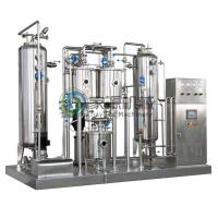 China High Pressure Carbonated Beverage Mixer 1000 - 6000 L / hr Beverage Making Machine on sale