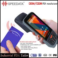 Rugged Mobile PDA Android Rfid Handheld Readers with 900Mhz Modules Manufactures