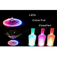 Waterproof Cup Bottle Electroluminescent Products Led Drink Coaster For Bar Manufactures