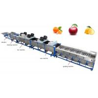 apple cleaning, fan drying, waxing, grading machine, apple sorting machine Manufactures