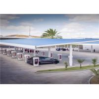 Smart Shared Solar Car Charging Station BIPV Unify Design For Electric Vehicles Manufactures