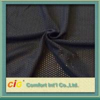 China Soft Plain Polyester Mesh Fabric Colored 150cm Width For Home Textile on sale