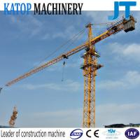 Good work low price QTZ80-5613 8t load 56m arm tower crane for long time use Manufactures