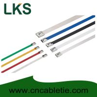 4.6*650mm 316/304/201 grade Ball-lock stainless steel cable ties