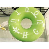 Hand Carved Shop Display Christmas Decorations Promotional Big Size Fiberglass Donuts Manufactures