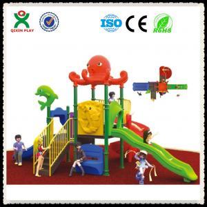China Children's Outdoor Playground Equipment Cheap Outdoor Playground Set QX-055C on sale