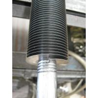 Seamless Carbon Steel Embedded Fluted Finned Tube With 0.55mm Fin Stock Manufactures