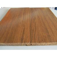 China Click lock Carbonized Strand Woven Bamboo Flooring on sale