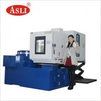 China SGS Mechanical Shock Test Machine Computer Controlled Vibration Test Chamber With Temperature Humidity on sale