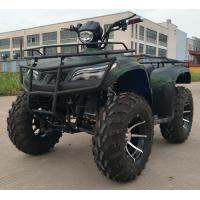 Single Arm Swing 250CC Four Wheeler With Manual Clutch Shaft Drive Manufactures