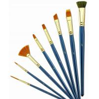 Customized Logo 4 Inch Artist Painting Brushes Liner Brushes For Oil Painting Manufactures