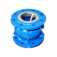 Industry Ductile Iron Valves 4 Inch Cast Iron Foot Valve For Clean Water Distribution Manufactures