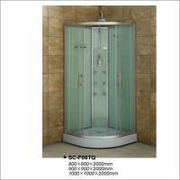 China Free Standing Bathroom Shower Units Glass Shower Cubicles 900*900*2000mm on sale