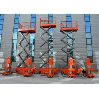 China Mobile Hydraulic Double Mast Aluminum Alloy Lift Table Aerial Work Platform on sale
