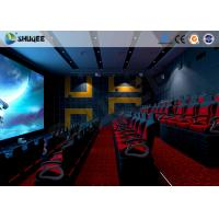 Electronic 4D Theater System 4D Motion Chair Surrounding Environment Simulation Manufactures