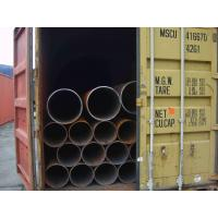 Round Seamless Welded Steel Pipes / Tubes, API 5L Pipe, ERW Carbon Steel Tube Customized Manufactures
