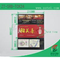 RFID folding ticket ( Product model: ZT-SRB-TCK24) Manufactures