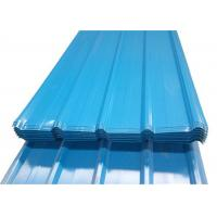 China Prepainted Colour Coated Sheets Cold Rolled With Gauge Thickness 0.2 To 0.8mm on sale