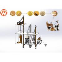 Buy cheap 2 T/H Animal Poultry Pellet Feed Plant With Feed Grinder And Mixer Equipment from wholesalers