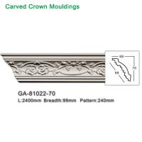 China 2017 newly polyurethane foam crown cornice moulding on sale