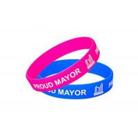 Logo Printing Custom Silicone Wristbands Colorful Adjustable Wristbands Promotional Items Manufactures