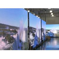 Rental Curved LED Curtain Display With PH6mm For Indoor Manufactures