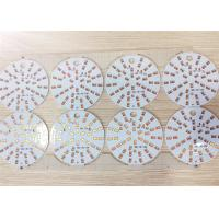 Aluminum LED Light PCB Board for LED Bulb Light in ENIG 1u'' in multiple layers Manufactures